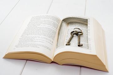 Chiavi nel libro