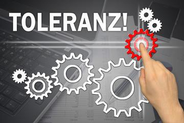 Anzeige - Toleranz!