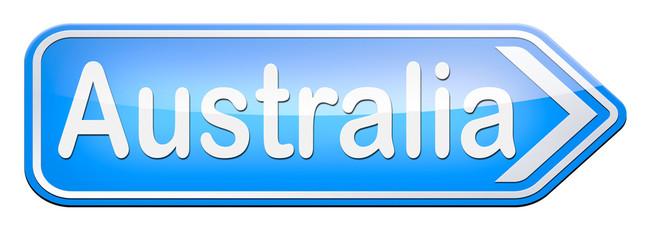 australia sign