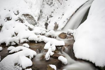 Allerheiligen Wasserfälle im Winter
