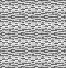 Seamless geometric op art texture.