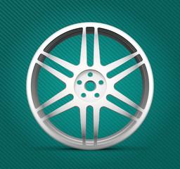 Car part - alloy wheels