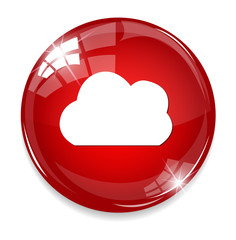 button with cloud icon