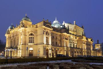 Juliusz Slowacki Theatre in Krakow, Poland