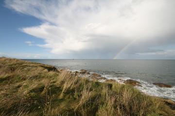 Regenbogen auf dem Ozean