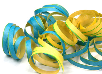 Papierschlangen