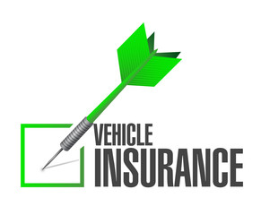 vehicle insurance dart check mark
