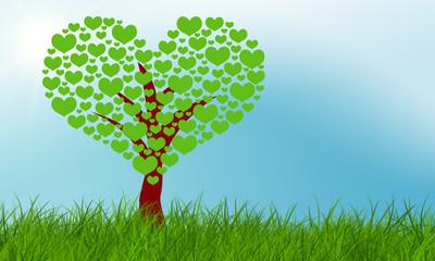 Ökologischer Herzbaum