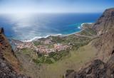 La Gomera - Luftaufnahme von Valle Gran Rey