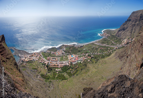 La Gomera - Luftaufnahme von Valle Gran Rey - 76070949