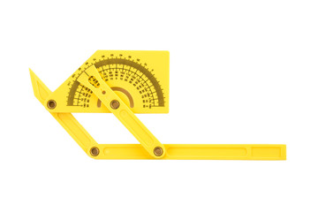 Protractor isolated