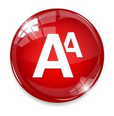 alphabet icon.
