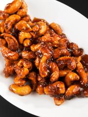 Caramelized cashew