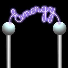 Lichtbogen - Symbol für Energie