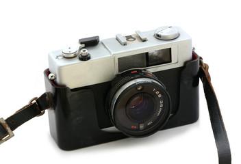 alte Kamera mit Gurt