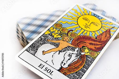 Poster Tarot cards