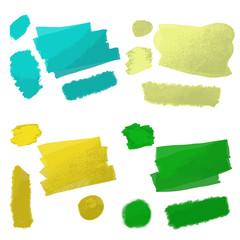 strokes oil paint