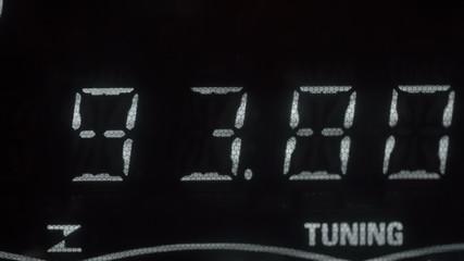 Slow auto tuning of radio stations