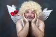 Leinwandbild Motiv Mature Cupid