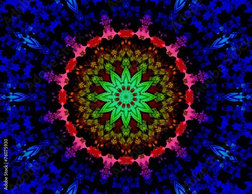meditation mandala - 76075930