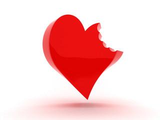 san valentino - morso al cuore
