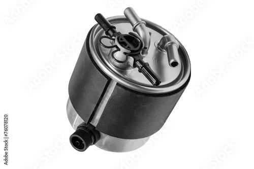 Leinwanddruck Bild fuel filter