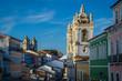Leinwanddruck Bild - Largo do Pelourinho