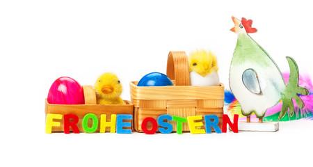 Huhn, Eier, Küken, Ostern