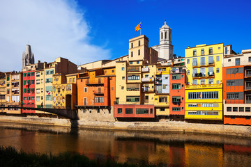 View of Girona. Catalonia