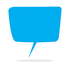 Blank Speech Balloon