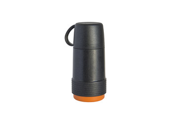 thermos bottle isolated on a white background