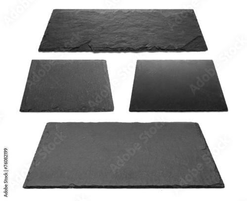 canvas print picture Schiefer, Schieferplatten