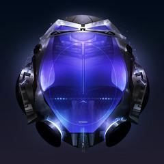 Cyber helmet