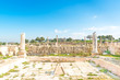 Umm Qais in the Decapolis city of Gader in northern Jordan