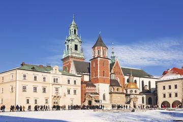 The Wawel castle in Krakow, Poland