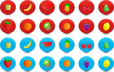 Iconos Frutas