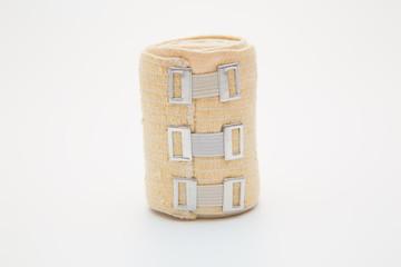 elastic bandage on a roll