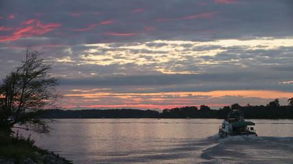 Fraser River Gillnetters at Sunrise