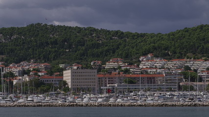 Arrival to Split by boat