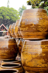 innovation store the water big dragon vases thai lifestyle