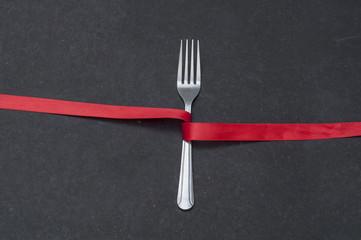 Fork-Ribbon,Center-Aliignment