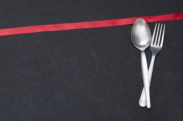 Spoon & Fork - Writing-Board