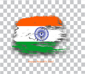 India flag with Event Original, vector illustration