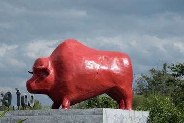 bull sculpture