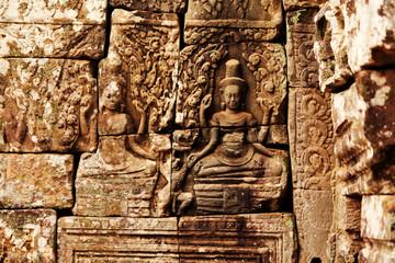 Dancing Apsara, Angkor Wat, Cambodia