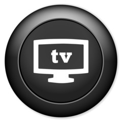 TV mode sign icon. Television symbol