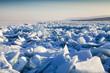 Leinwanddruck Bild - Ice age