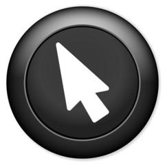 Mouse cursor icon. Pointer symbol.