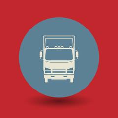 Truck symbol, vector