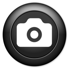 Photo camera sign icon. Digital photo camera symbol.